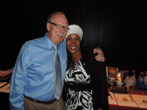 Dr. Shinn with his wife Faria
